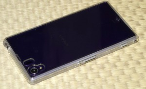 Case-Mate Hybrid Tough Naked Case クリア Xperia Z1 裏