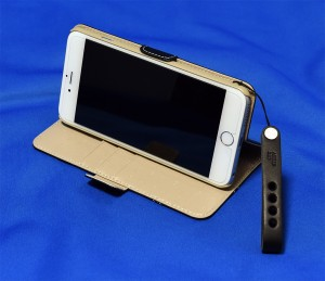 TUNEWEAR TUNEFOLIO TRAD for iPhone 6 Plus ブラック ストラップホール